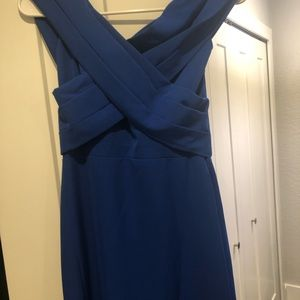 A&N Luxe Label Dresses - A&N LUXE JOCELYN CREPE GOWN - ROYAL BLUE